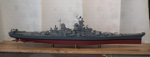 USS Missouri 350th scale