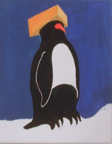 Cheesehead Penguin-1