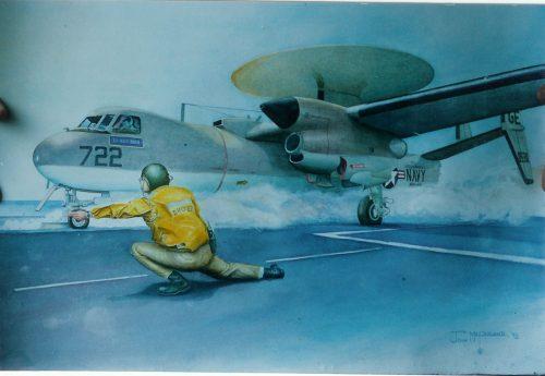 E2-B Hawkeye Launch