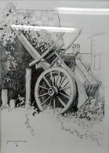 French Harvest Cart