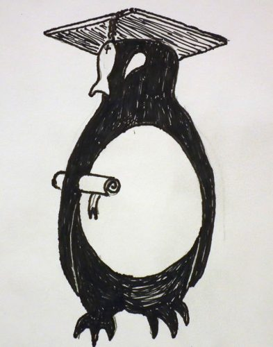 Graduating Penguin (2)