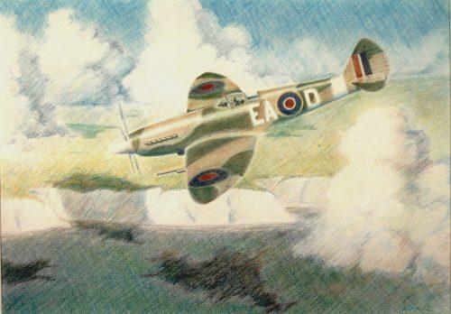 Tony's Spitfire